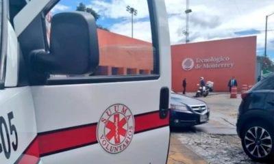 Balacera, Tec de Monterrey, CDMX, Santa FE, asalto, inseguridad,
