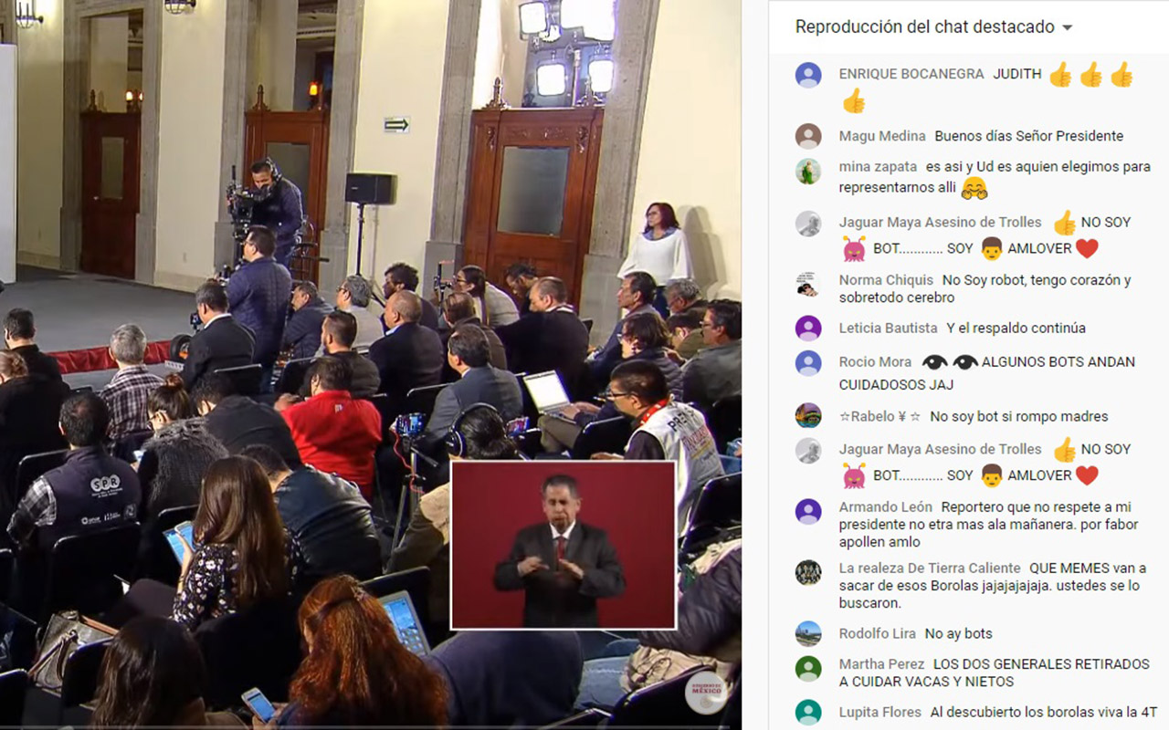 Bots, peligro, Twitter, Facebook, #PrensaSicaria #PrensaProstituida, #PrensaCorrupta,