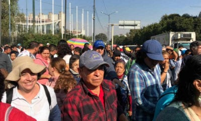Comerciantes marchan (Israel Lorenzana/Siete24)