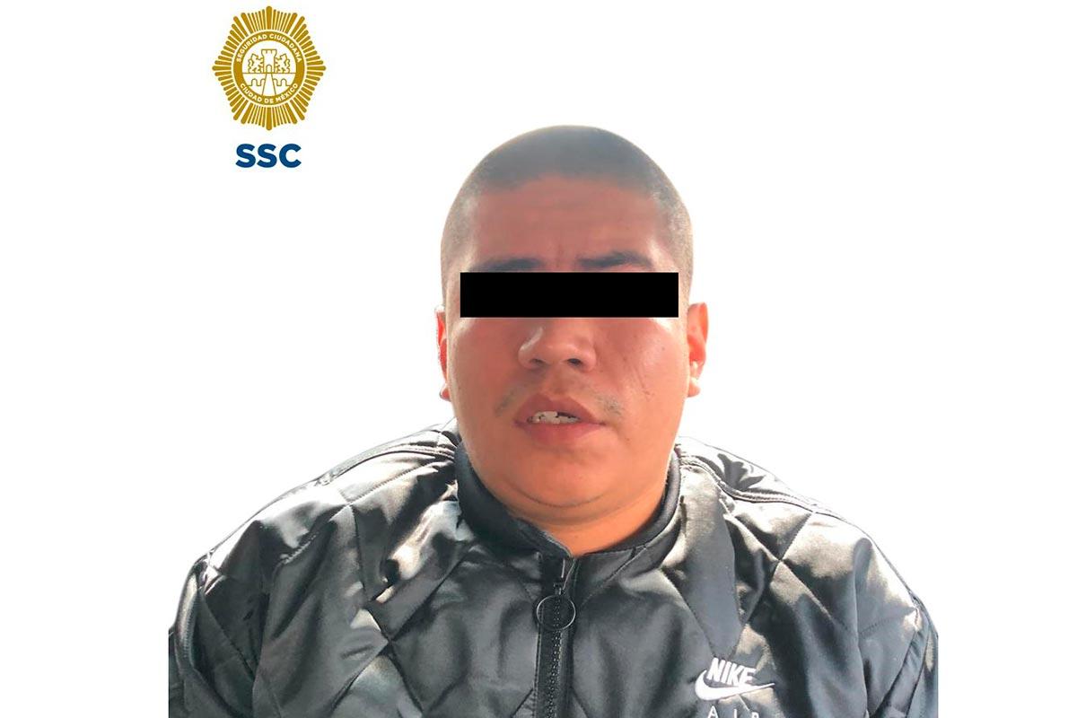 El detenido aparece en las grabaciones del robo a la Casa de Moneda. Foto: Especial