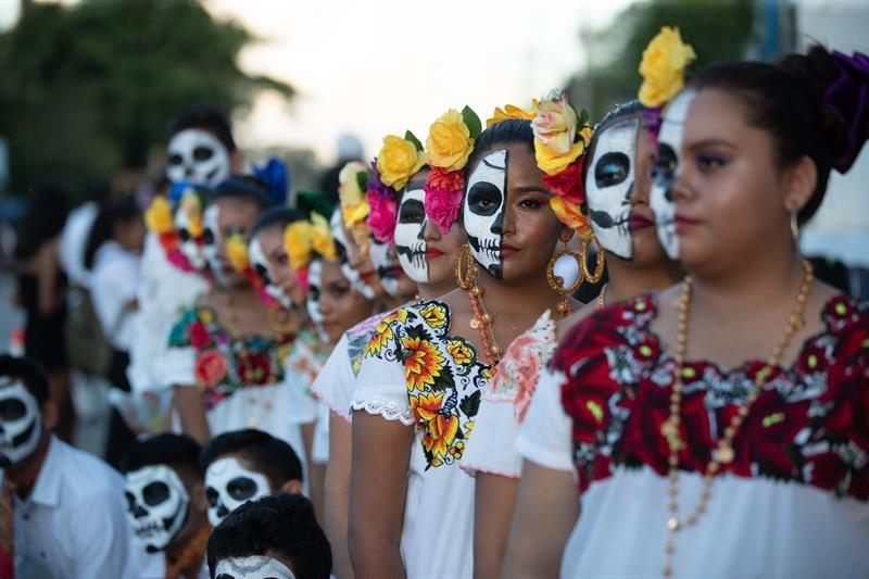 Celebración del Día de Muertos en México/Foto: EFE