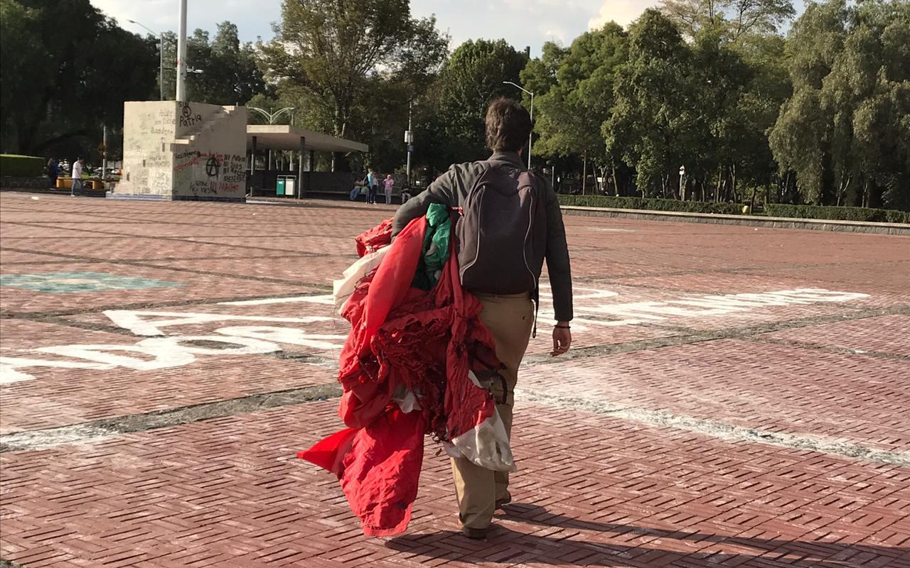 ENCAPUCHADOS, VIOLENCIA, RECTORÍA, UNAM