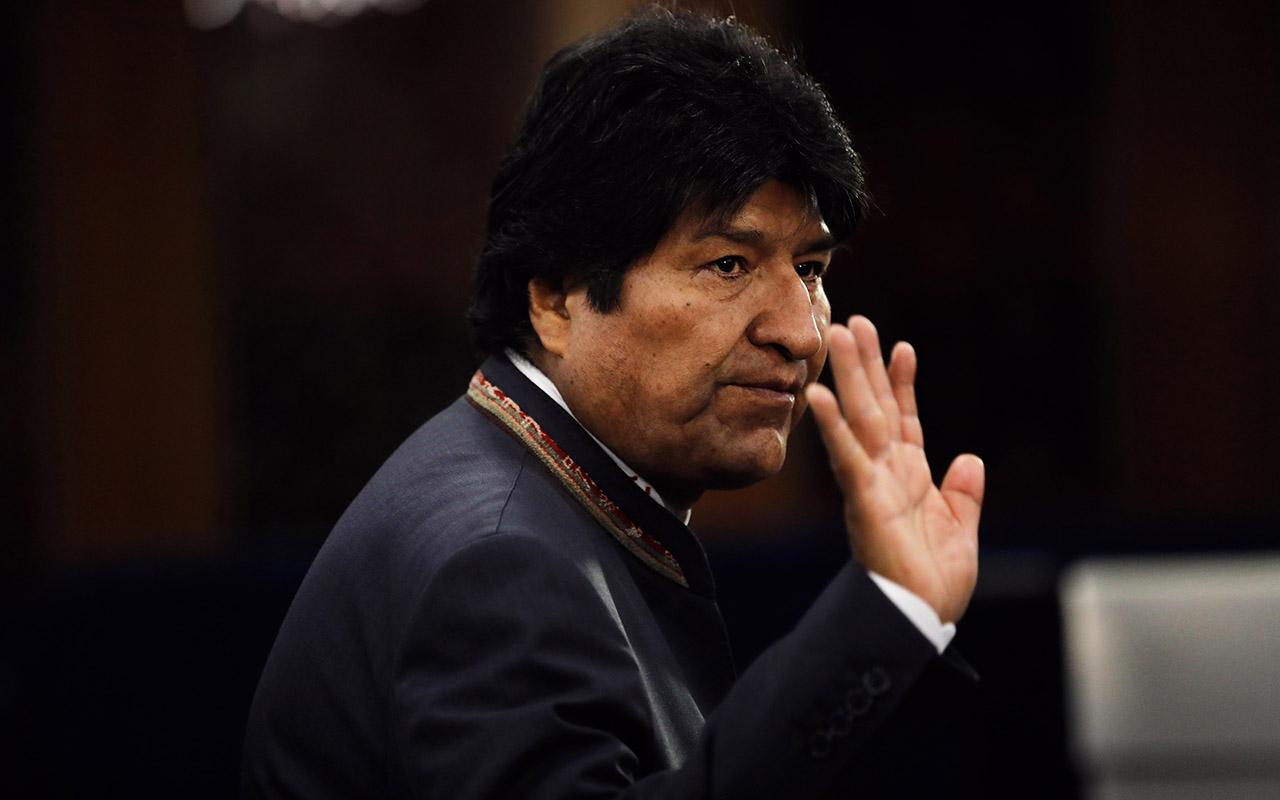 México da asilo político a Evo Morales