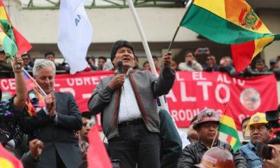 Evo Morales, Bolivia, Renuncia, Golpe de Estado