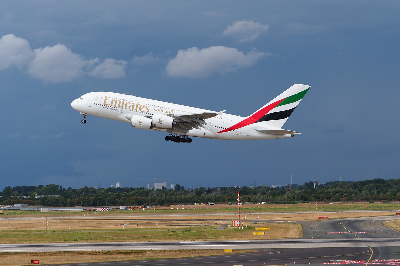 Fly Emirates llega a cubrir una ruta dominada por Aeroméxico. Foto: Pixabay