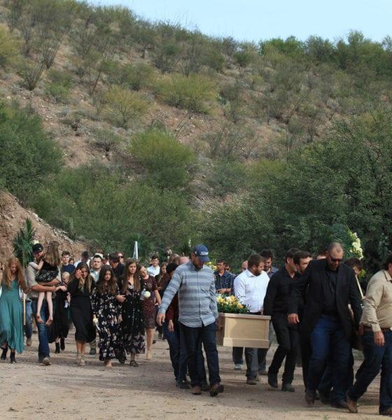 Lebarón, familia, funeral, Sonora, Chihuahua, La Mora,