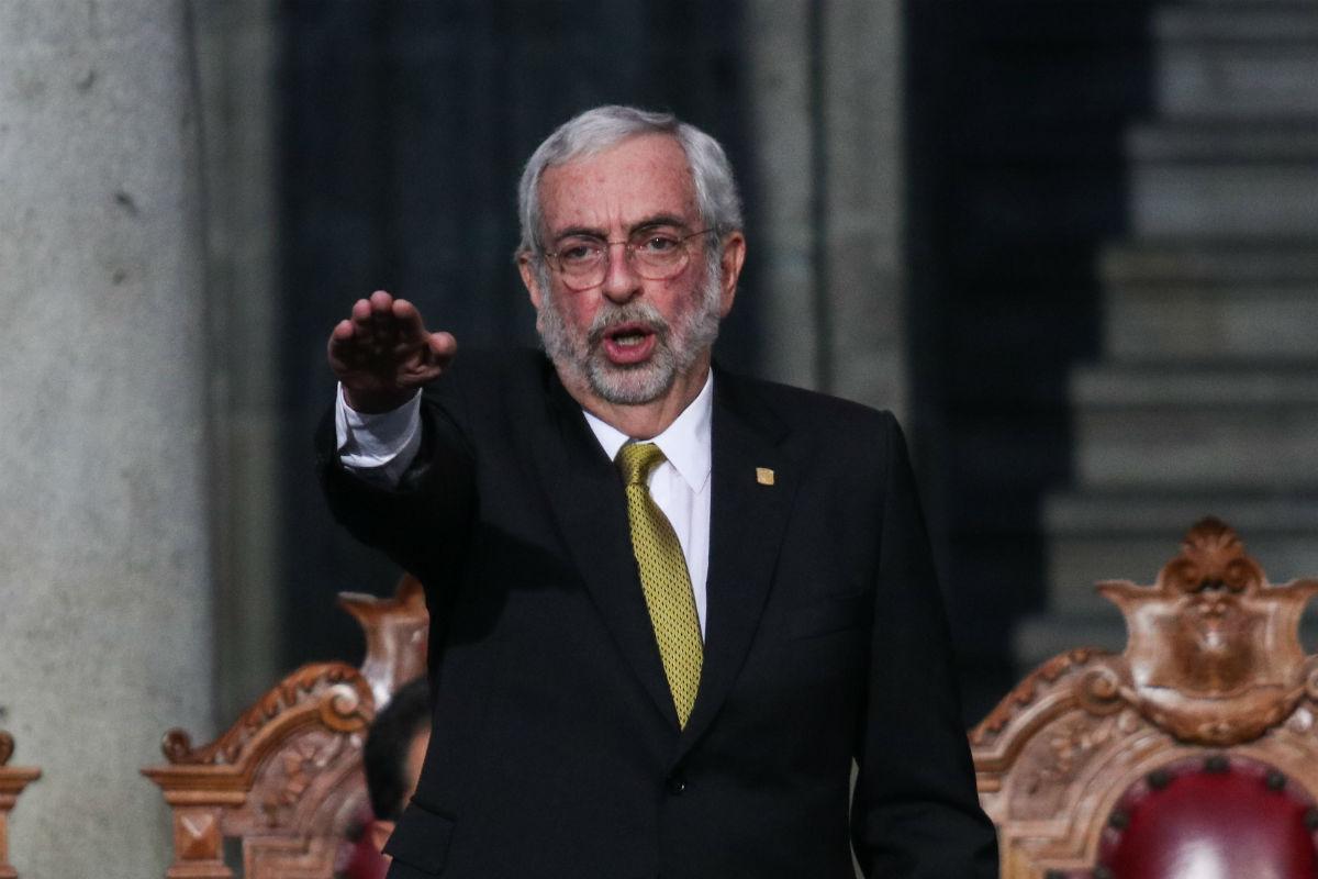 Enrique Graue asume mandato en la UNAM