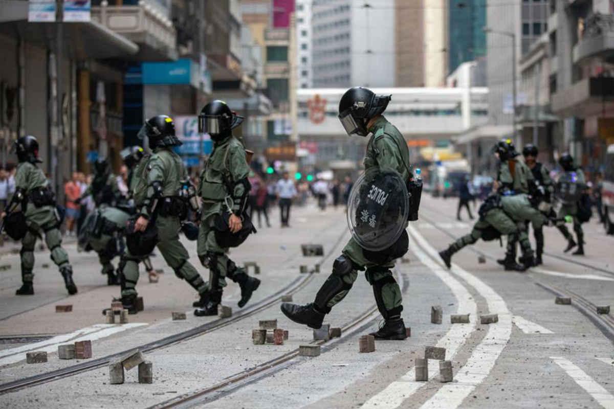 Siguen las protestas en Hong Kong (EFE)