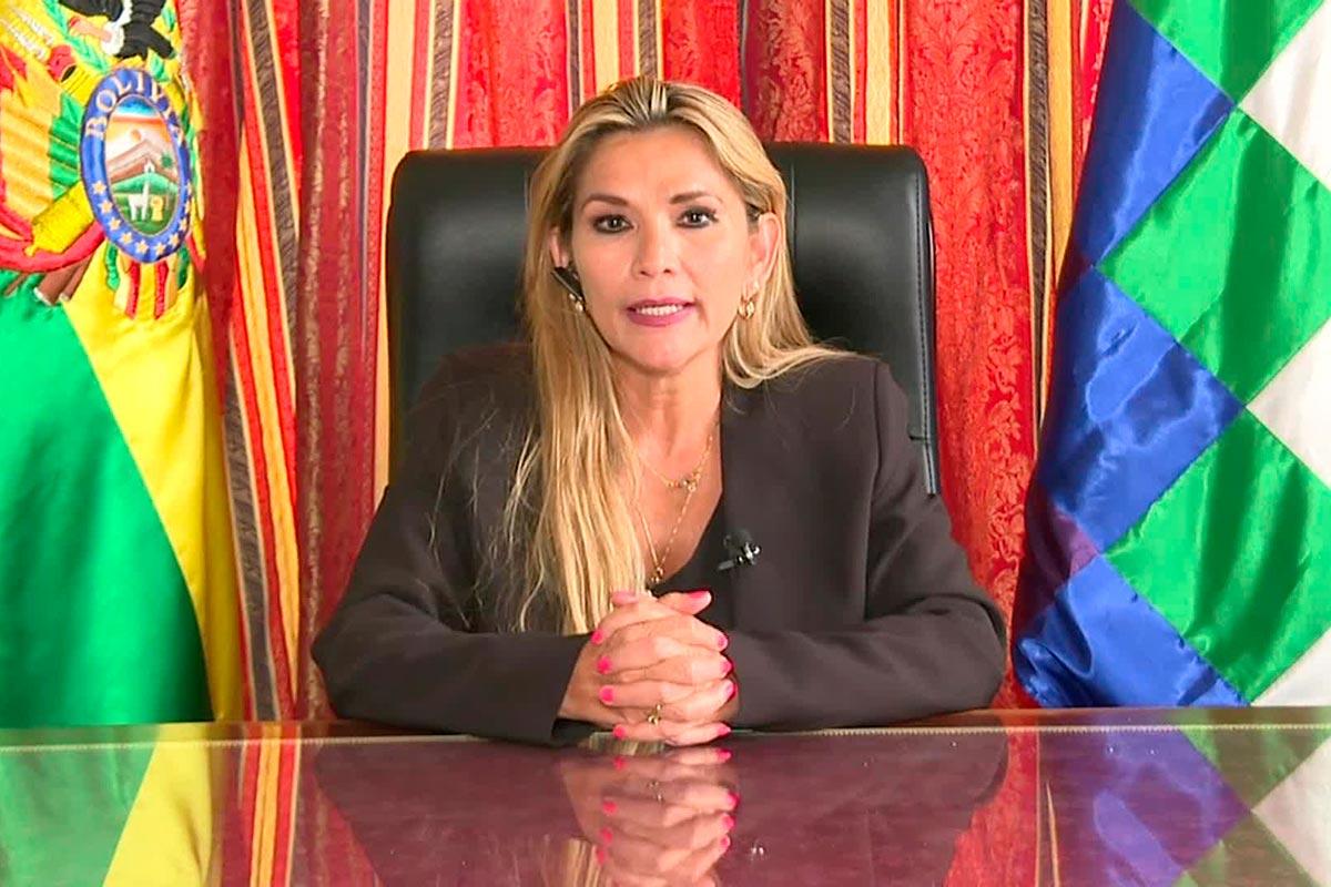 Jeanine Áñez. Foto: Archivo