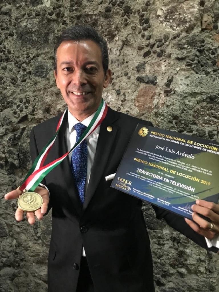 El periodista José Luis Árevalo