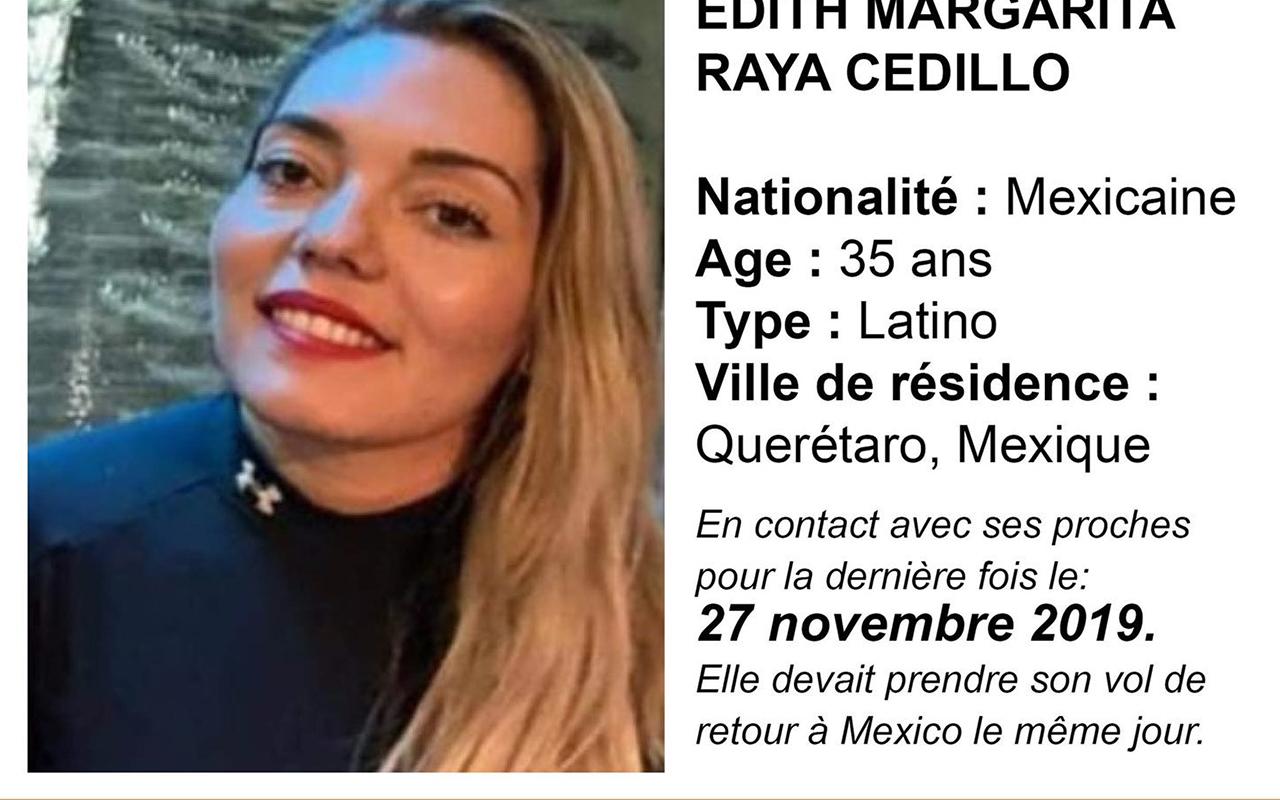 Desaparece mexicana en París