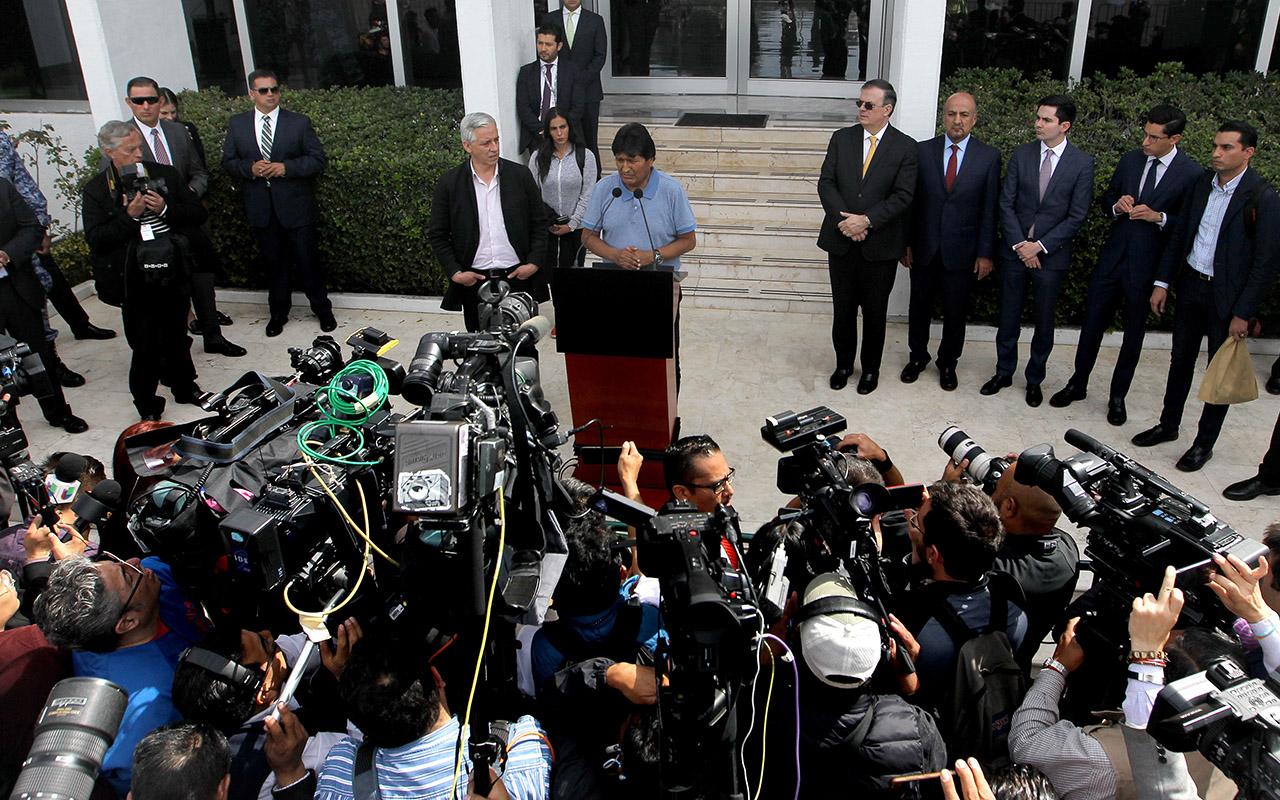 Evo morales, asilo político, Bolivia