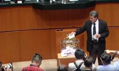Ricardo Monreal, votación, CNDH, Rosario Piedra Ibarra,