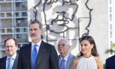 Reyes de España en La Habana (EFE)