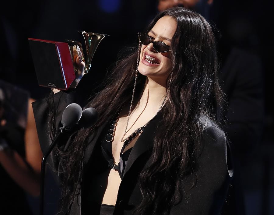 Rosalía se lleva tres Latin Grammy/Foto: EFE