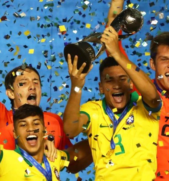Seleccion de Brasil le pegó a México. Foto: FIFA