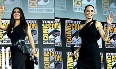 Angelina Jolie y Salma Hayek son protagonistas de The Eternals