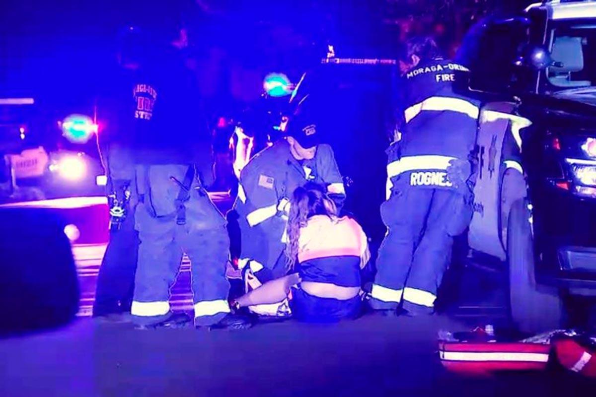 Había al menos 100 personas en el momento del tiroteo. Foto: Especial