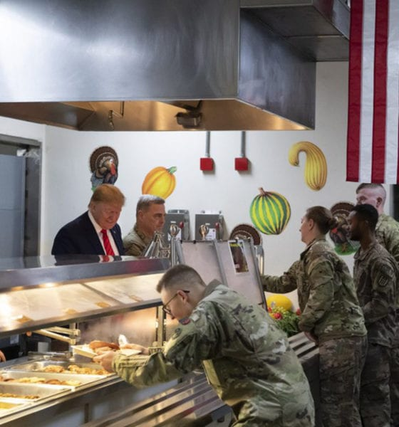 Trump realiza viaje sorpresa a Afganistán