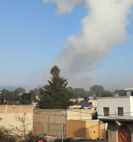 Explosión en Tultepec (Especial)