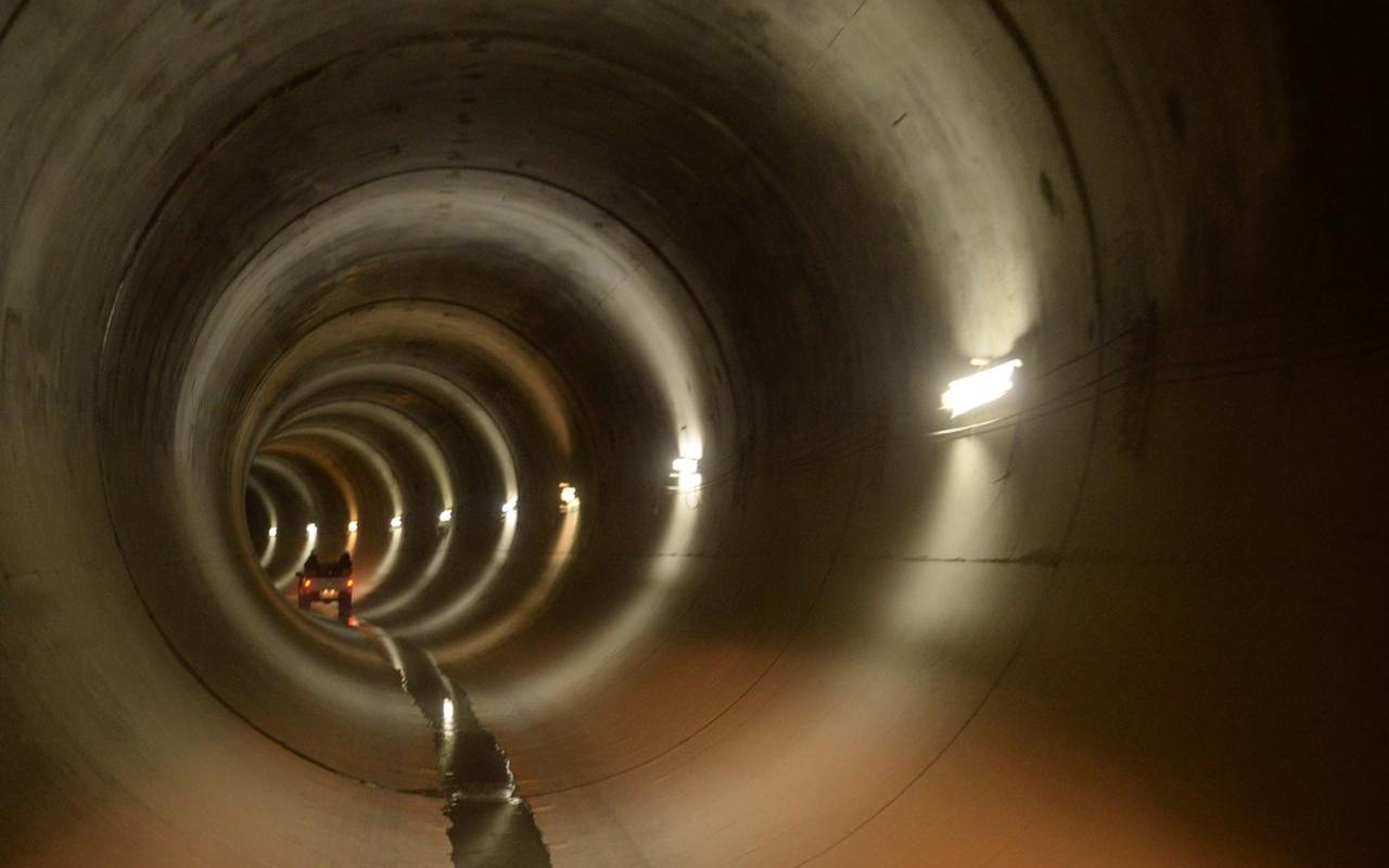 Tras 11 años, está listo el Túnel Emisor Oriente
