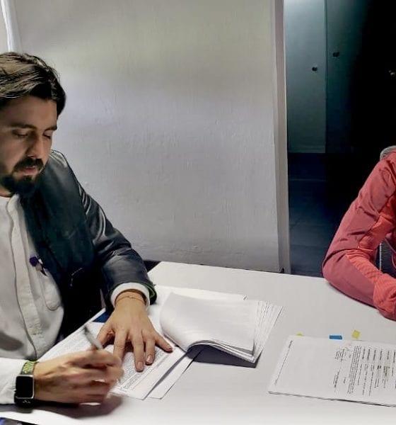 Amaury Vergara duerme tranquilo. en Chivas Foto: Twitter