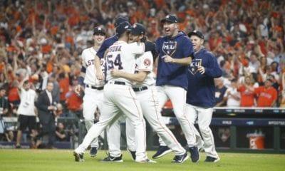 Astros de Houston roba señales. Foto: EFE