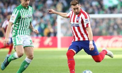 Atlético de Madrid le pegó al Betis. Foto: Twitter Atlético