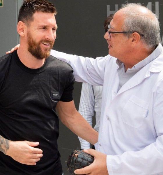 Barcelona se queda sin Messi. Foto: Twitter