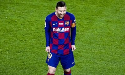 Triplete de Messi en victoria de Barcelona. Foto: Barcelona
