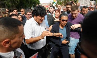 EU pide que Evo Morales no abuse de su estatus en Argentina