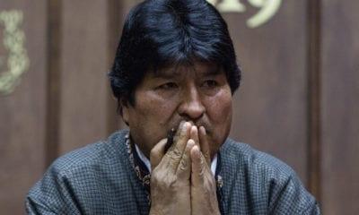 Giran orden de aprehensión en contra de Evo Morales
