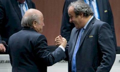 FIFA entabló demanda contra Blatter y Platino. Foto: Twitter