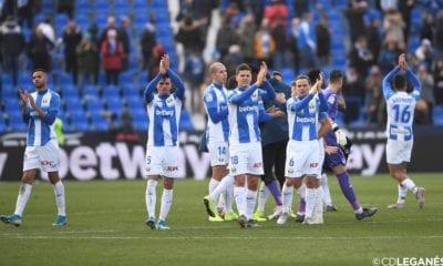 Valioso triunfo del Leganés. Foto: Twitter Leganés