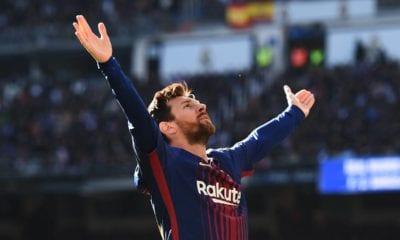 Le agrada a Messi ser goleador de LaLiga. Foto: Twitter