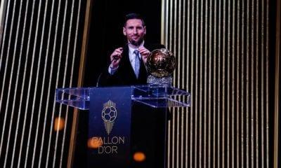 Messi se llevó el balón de oro. Foto: Messi
