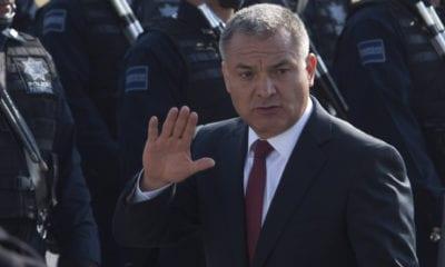 Rechazan libertad bajo fianza a García Luna por peligro de fuga