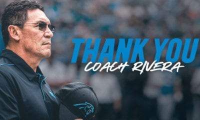 RON RIVERA - FOTO Panthers