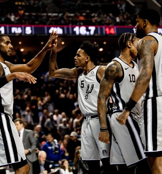 Sufrida victoria de los Spurs. Foto: Spurs