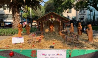 Piñatas, Nacimientos, Paseo de la Reforma, CDMX