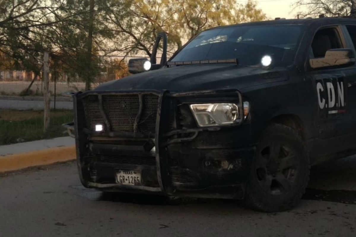 Una camioneta de los narcos