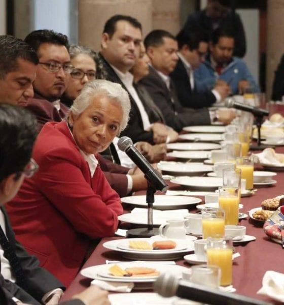 Coahuila, un éxito en la estrategia de seguridad: Sánchez Cordero
