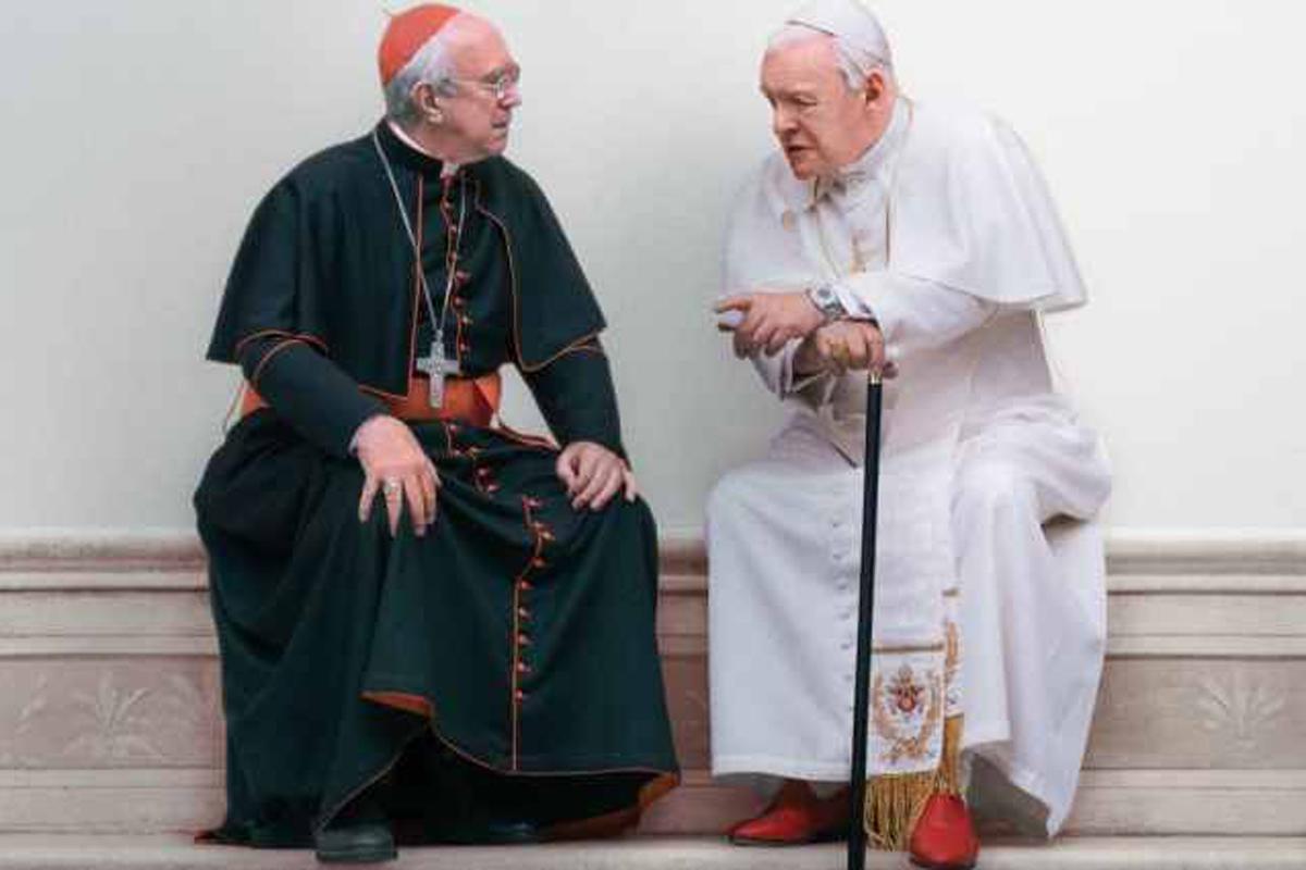 Los dos papas, alegoría en búsqueda de unidad