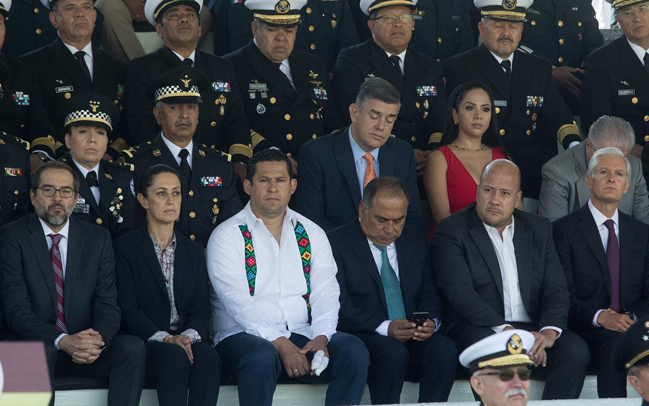 Gobernadores reconocen tensión en el tema de seguridad