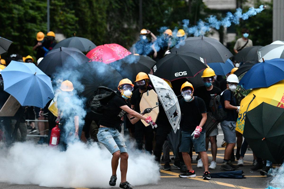 Advierte Hong Kong duras medidas contra manifestantes en Navidad
