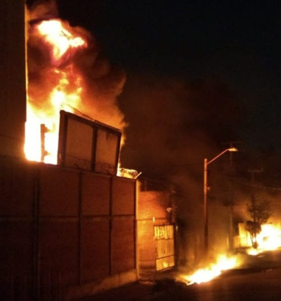 Se incendia Subestación Eléctrica en Iztapalapa