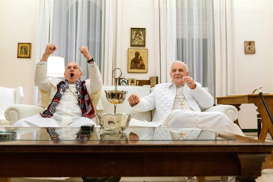 Los Dos Papas/Foto: Cortesía Netflix