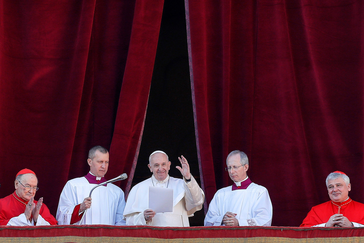En mensaje de Navidad, El papa Francisco pide esperanza en Latinoamérica