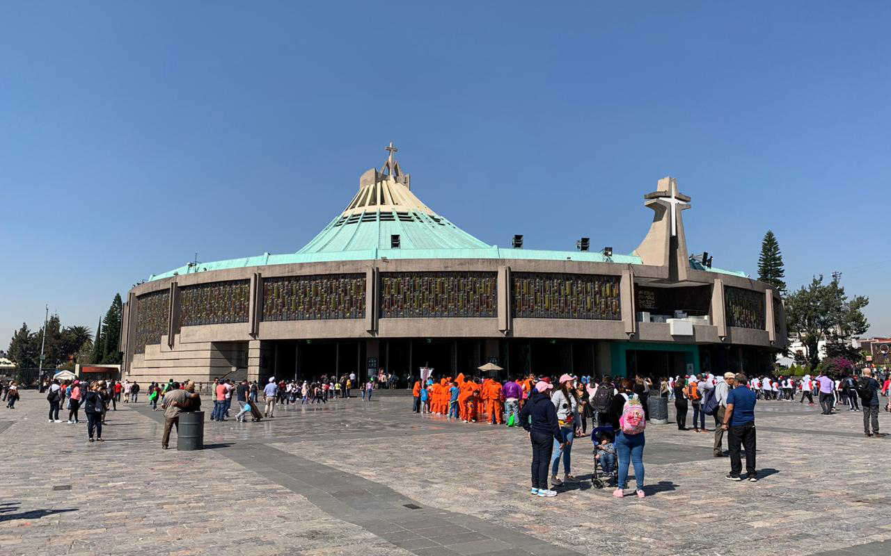Más de 10 millones de peregrinos acudirán a la Basílica de Guadalupe