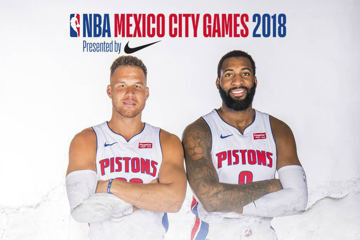 pistons - NBA México